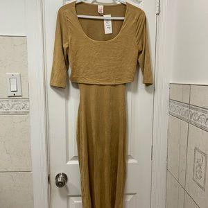 Very soft 🤎 beige dress size L